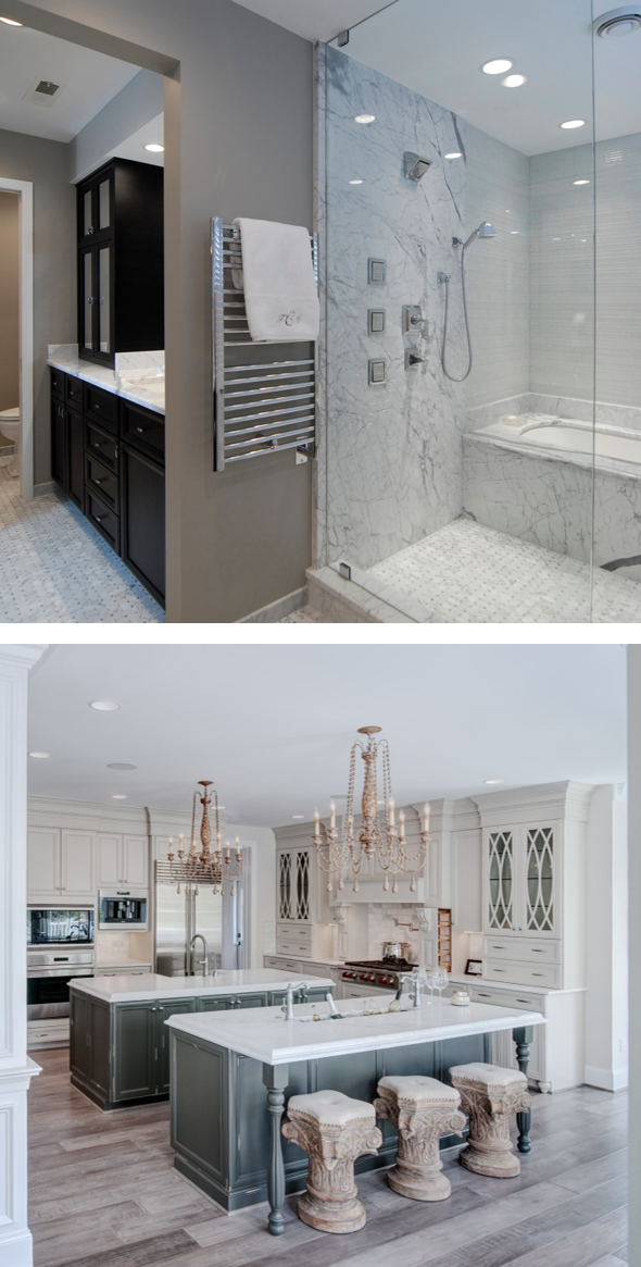 Which came first kitchen or bathroom remodeling