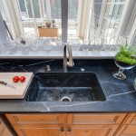 Kitchen Countertop & Kitchen Sink in Soapstone