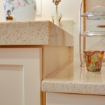 Kitchen Countertop using Quartz Engineered Stone