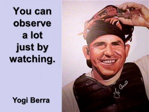Yogi Berra on kitchen and bath remodeling