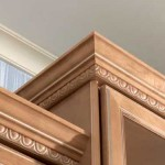 Frederick MD Kitchen Remodeling Client adds molding
