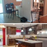 Before and After the Kitchen Remodeling Experience