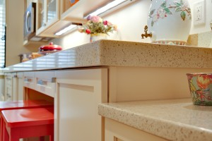 Kitchen Countertops at multiple levels