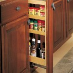 Merillat Spice Rack Pullout | Reico Kitchen & Bath