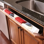Tilt Out Sink Tray Kitchen Cabinet Accessory