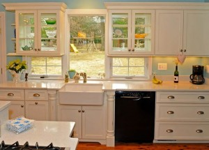 Kitchen Focal Point - Adding Glass Doors