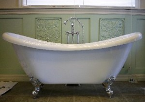 Claw-footed Soaking Tub