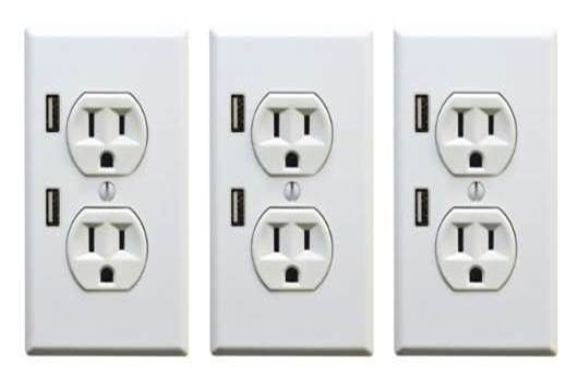 Kitchen Design Trend - the U-socket plug and USB charger