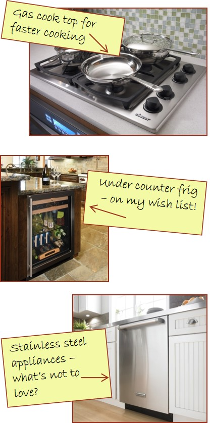 3 basics of kitchen appliances