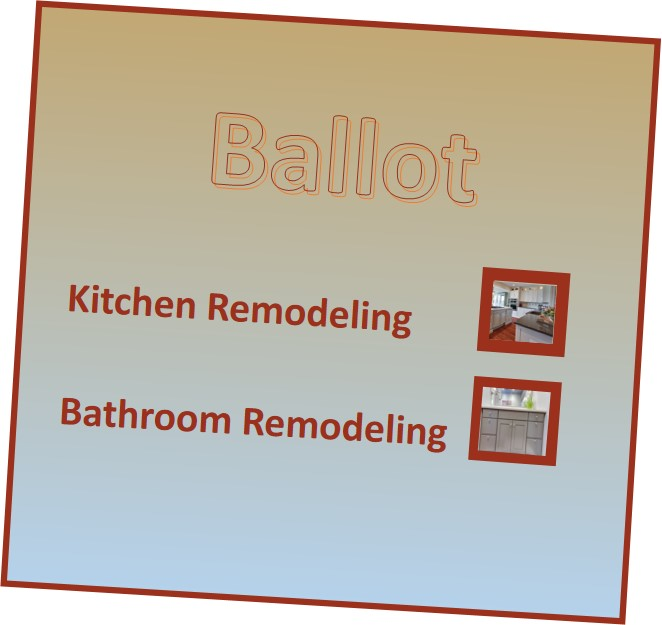 Does Bathroom Remodeling get your vote