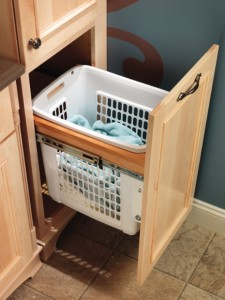 Merillat Bathroom Hamper Cabinet
