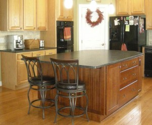 Herndon, VA kitchen island design