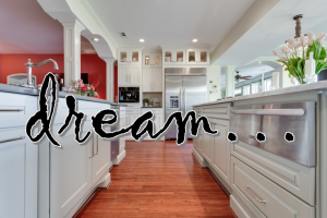 A kitchen dream to created dream kitchens