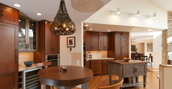 Kitchen Lighting Ideas from Reico. Lighting in layers.